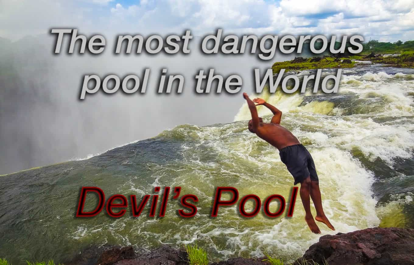 Devils pool - most dangerous pool in the world