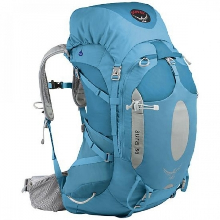 Backpacking through Europe - Osprey Aura 50
