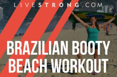 Brazilian Booty Beach workout