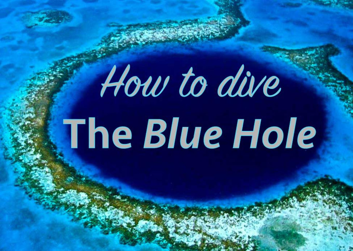 How To Dive The Great Blue Hole Roamaroo Travel Blog