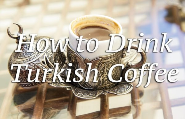 How to drink turkish coffee - Roamaroo, Istanbul