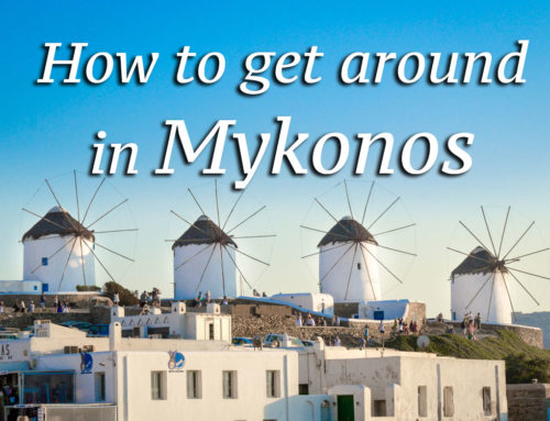How to Get Around in Mykonos