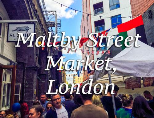 The Best Food Market in London: Maltby Street Market