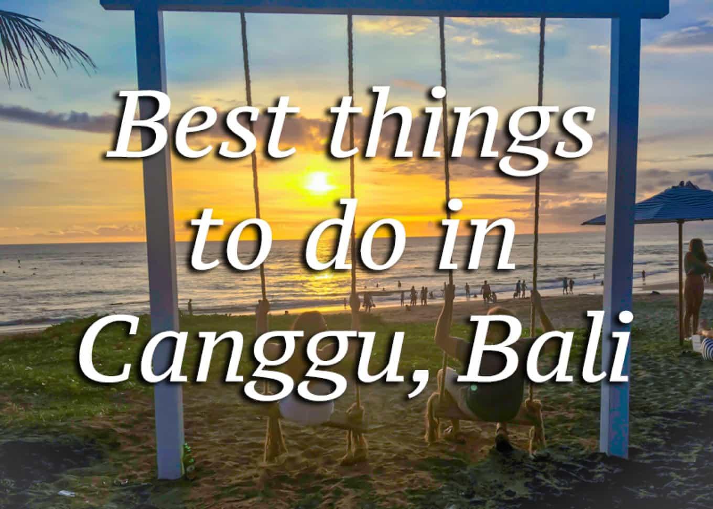 What To Do In Canggu Bali Roamaroo Travel Blog