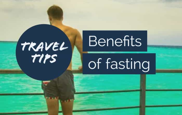 Benefits of fasting during travel