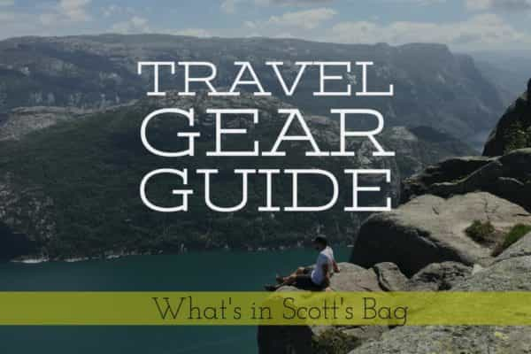 Travel Guide Gear for clothes and electronics