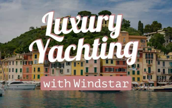 Luxury Yachting with windstar cruises