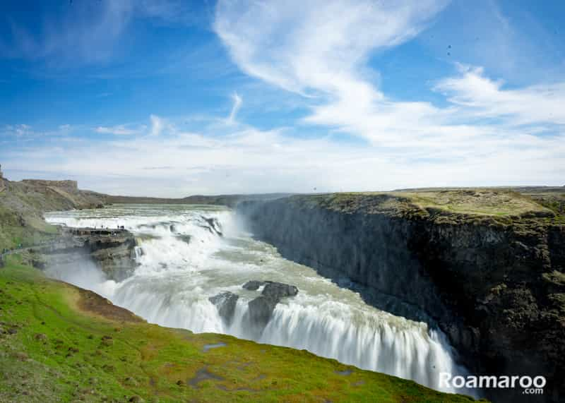 Things to do in Iceland gullfoss waterfall