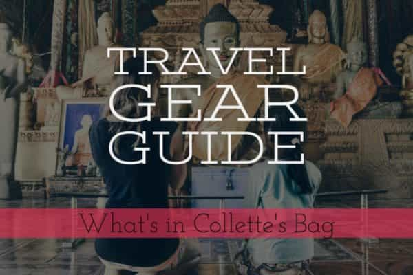 Travel Gear Guide for Girls - What's in Collette's Bag