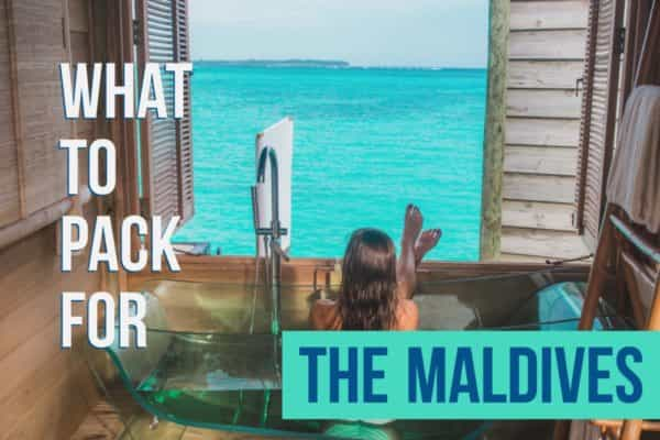 Vacation Packing lists What to pack for the Maldives