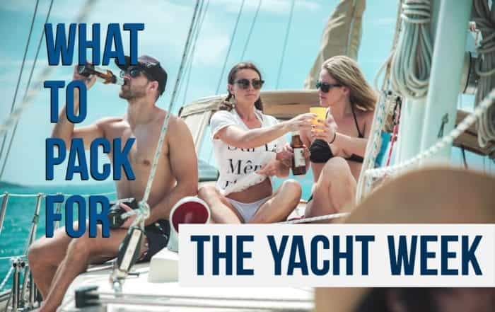 What to pack for the yacht week