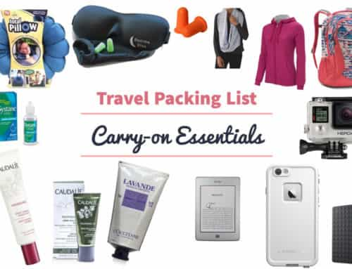 Travel Packing List: Carry-On Essentials