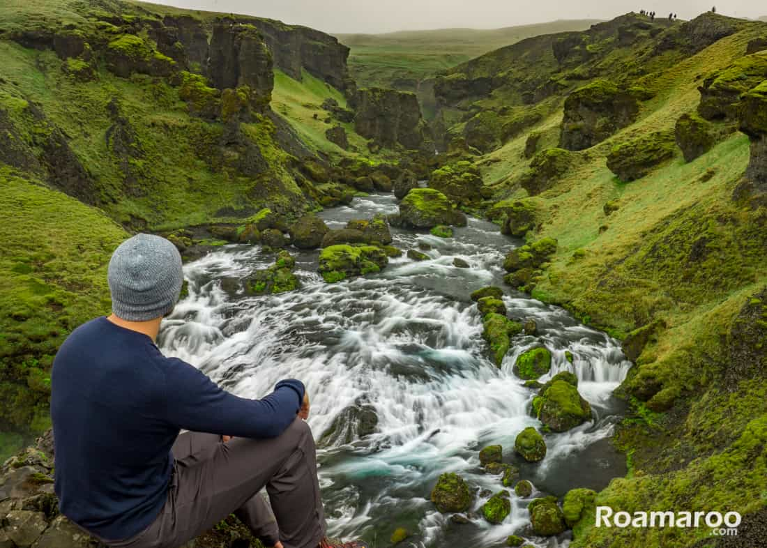 Sony a7 and Sony a7II Camera Review - Iceland waterfall
