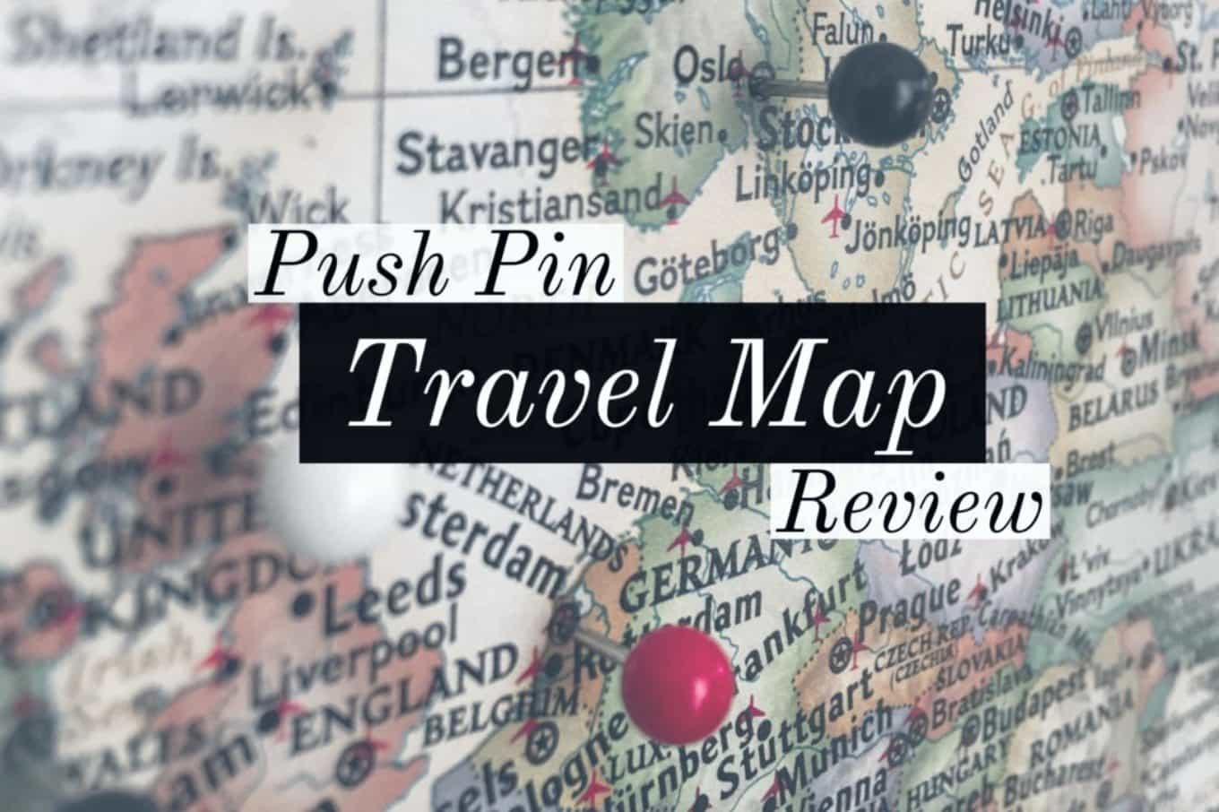 Product Review Push Pin Travel Map – Pushpin Travel Map