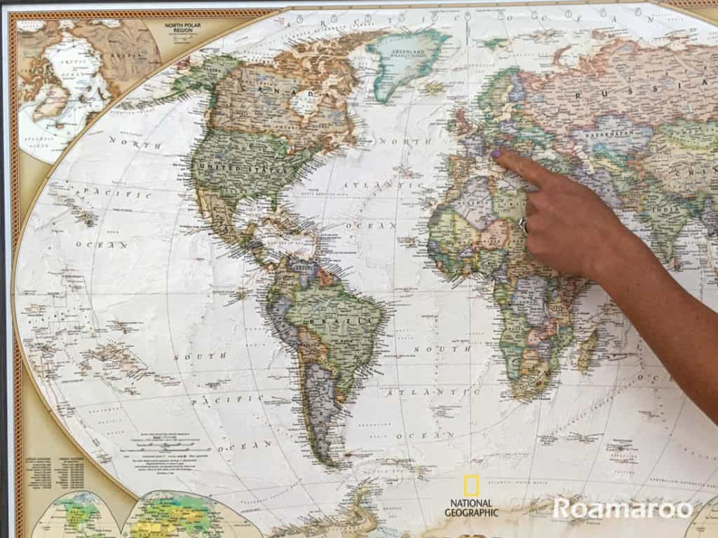 Product review push pin travel map push pin travel map gumiabroncs Image collections