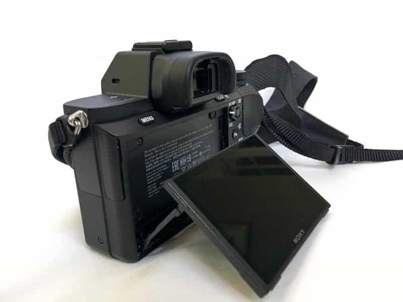 LCD Screen of Sony A7 Best Travel Gear Sony a7II Image Quality