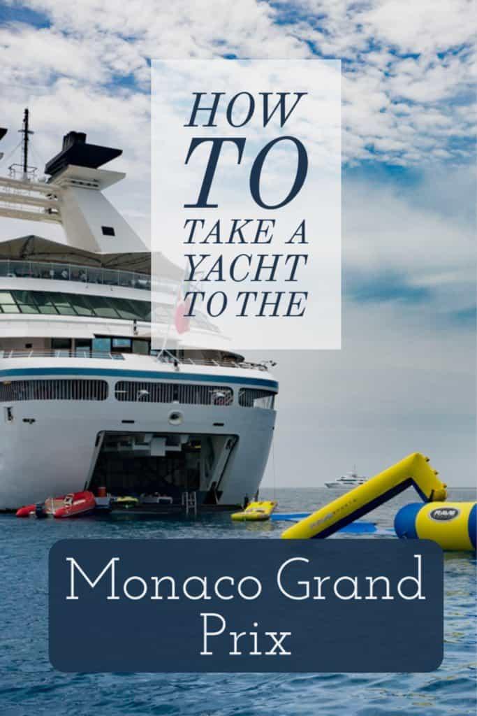 Yacht Grand Prix Monaco - Roamaroo
