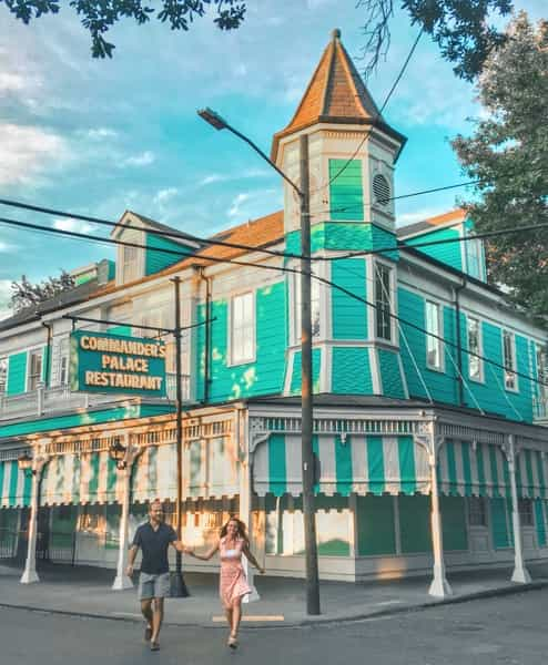 Best place to eat in New Orleans Commander's Palace