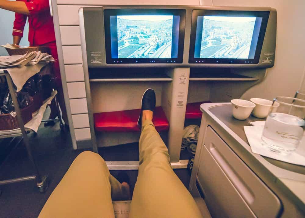 Royal Jordanian Airlines Crown Class