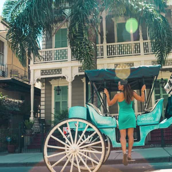 What to do in New Orleans Horse and Buggy Ride