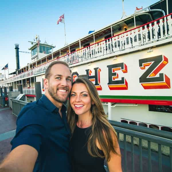 What to do in New Orleans Natchez Steam Boat