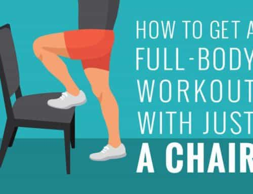 Wanderlust Workouts™: Your Travel Workout With Just A Chair