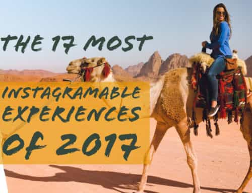 The 17 Most Instagrammable Travel Experiences of 2017