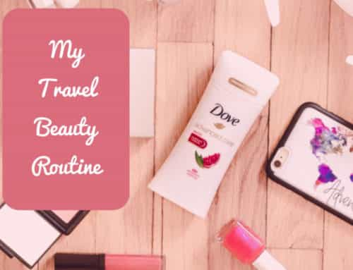 My Travel Beauty Routine