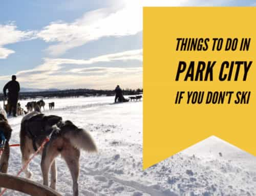 Things to do in Park City if You Don't Ski