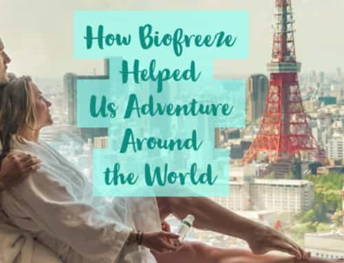 How BioFreeze Helped Us Adventure Around the World