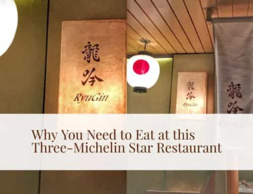 Why You Need to Eat at Nihonryori Ryugin, Tokyo: A Photo Diary