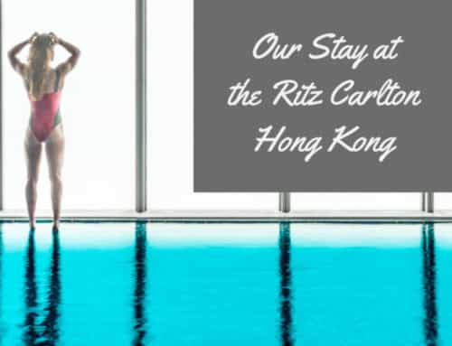 Our Luxurious Stay At The Ritz Carlton Hong Kong