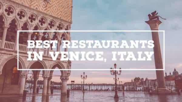 Best Restaurants In Venice Italy Archives Roamaroo